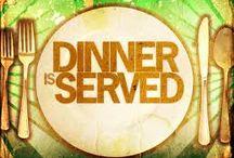 ~D I N N E R  is Served ♨~ / by Sheila Anne
