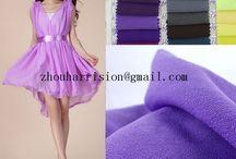 chiffon fabrics to make beautiful clothes / supplier