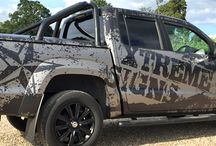 Truck & 4x4 sign writing | Vehicle graphics / Large vehicle livery on trucks and 4x4s | Xtreme Signs