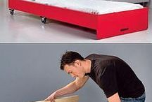 DIY Coffee table / single bed