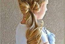 りぼんヘア…ribbon hairstyle♡