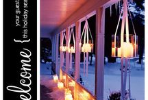 Christmas-porch ideas / by Sheryl Sanders