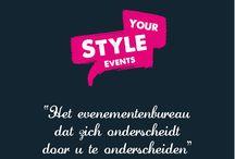 Wie zijn wij? / Graag willen wij u kennis laten maken met Evenementenbureau Your Style Events!