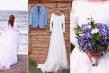 Wedding shooting in beach