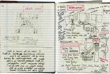 Notebooks / Sketchbooks / Journals