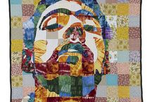 Quilting Heaven / I have always INTENDED to take up quilting, but there's never time. I will do it someday. Until then, I will keep dreaming and finding pretty quilts to ogle -- or artwork that may inspire a future quilt for me. / by Carolyn Bahm
