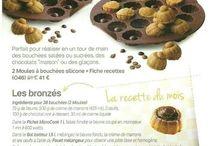 recette tupperware fiche bouchées les bronzées