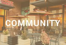 Community / Take a look at all of our beautiful community features.  https://www.eastownla.com/
