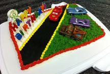 Matthew's cake / by Kristina