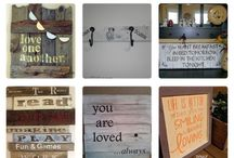 Pallets & Wooden Signs / by Carlo Cianetti