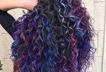 cabelo cacheado❤