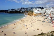 Algarve / The Algarve coast is Portugal's most popular holiday destination, drawing many Europeans looking to embrace the country's summer sun. The coastline runs for about 150 kilometres and is dotted with alternating beaches, cliffs and caves