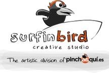 Surfinbird  / ¡Hola! Somos Surfinbird Estudio creativo. ¿Te atreves a surfear entre olas de creatividad?