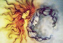 Sun&Moon ☼☪ / by Rachelle Howard