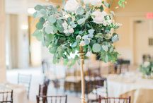 Wedding colors - Greenery & White