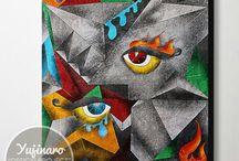 Yujinaro Design Project (Cubism)