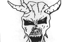 Richard Ramirez drawings - the night stalker -