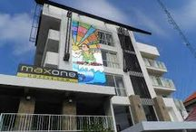 Maxone Hotel - Campus for movie acting / MaxOneHotels@Bukit Jimbaran is strategically located in Jl. Raya Uluwatu in Bukit Jimbaran, 5 minutes drive to Garuda Wisnu Kencana Cultural Park and 20 minutes drive to Bali International Airport. Close by to Dreamland and Jimbaran Beach offering international restaurants & bars and entertainment venues.  -