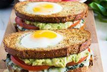 Sándwich / Recetas de comidas ricas