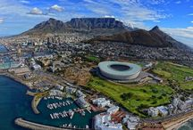 South Africa / There're a lot of amazing places in South Africa that you'll discover about over this board.