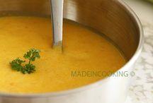 Potage/soupe