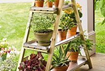 Muebles para plantas