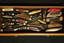KNIVES / Hunting and collectable knives from my collection Maine