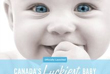 Canada's Luckiest Baby / Check out some of our amazing prizes from our past Canada's Luckiest Baby Contests! Want to enter for your won chance to win some amazing prizes? Check out Canada's Luckiest Baby 8! http://clb8.parentlifenetwork.com/  Canada's Luckiest Baby has been chosen. Congrats to the Rowley Family of Newmarket, ON!