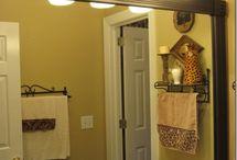 bathroom mirror / by Heather Carty Sullivan