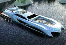 barcos futuristas
