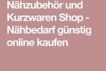 Nähen Zubehoer + Stoffe