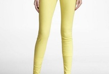 Obsessed with Colored Jeans / by Asma Stephan
