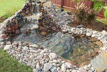 Garten-wasserfall
