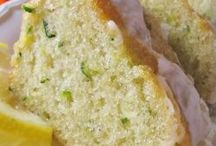 Courgette lemon cake
