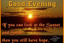 Good Evening / Good Evening msg for my freinds