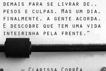 """Um pouco de felicidade / """"Um pouco da nossa vida, resumido em palavras"""""""