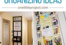 Back to school organizing tips