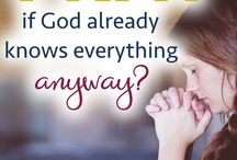 Prayer || Faith and the Christian Life / Pins, articles, and inspiration on prayer in the Christian life. Lessons, studies, encouragement and challenges to help you grow closer to God through prayer.