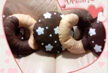 cookie / handmade pillow