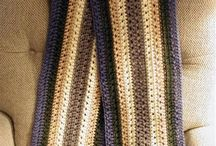 crochet scarfs for man