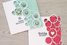 Cards using circles