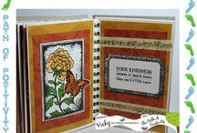 Mini-Book Creations @ Pickled Potpourri / Mini-book, album and journal creations featuring digital stamps and papers from Pickled Potpourri