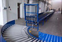 Conveyors for express parcel servises // Dopravníky pro expresní balíkové služby