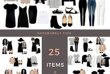 Capsule wardrobes for moms / Fashion for moms - easy outfit ideas for the modern mom | wardrobe ideas | wardrobe inspiration - How to mix and match your clothes.