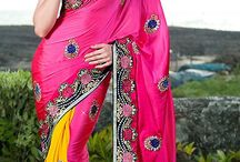 Sarees For Soon To Be Brides / Sarees For Soon To Be Brides, Wedding Sarees / by www.indiabazaaronline.com