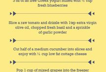 Healthy Snack Ideas / Don't know what to snack on?