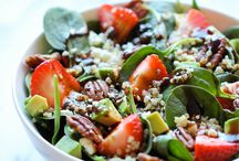 Salads / Yummy salad ideas