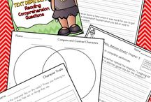 Reading Comprehension Strategies / Anchor charts, lessons, activities, and books for teaching reading comprehension strategies.
