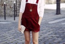 Overall Perfection / For the love of overalls, jumpsuits, playsuits, rompers, jump-shorts etc.