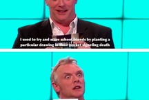 Funny shows ( Would I Lie To You, QI ) etc